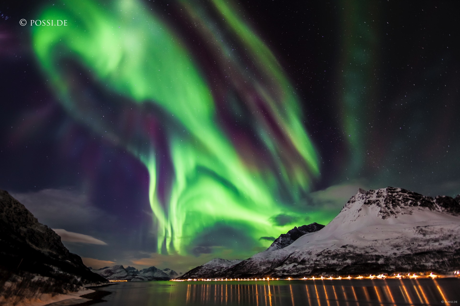 Capturing the dance of the aurora borealis in Norway